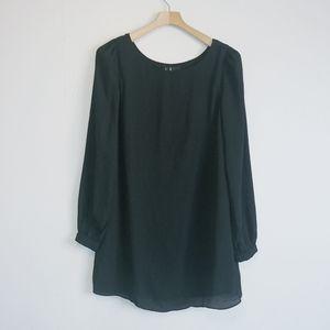 Lulus mini shift dress long sleeve